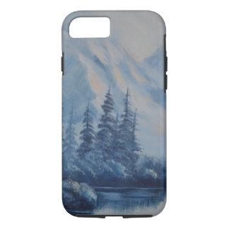 Peaceful Blue Mountain iPhone 7 Case