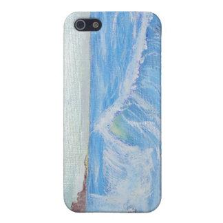 Peaceful Blue Seascape iPhone 5/5S Case