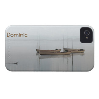 Peaceful Boats on Tranquil Waters iPhone 4 Case