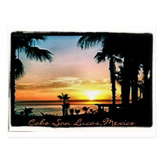 Peaceful Cabo Sunset Postcard