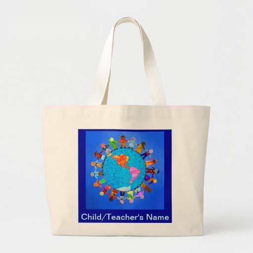 Peaceful Children Canvas Bags