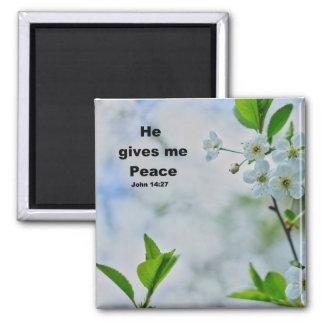 Peaceful Christian Refrigerator Magnet