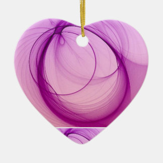 Peaceful Christmas Heart Ornament