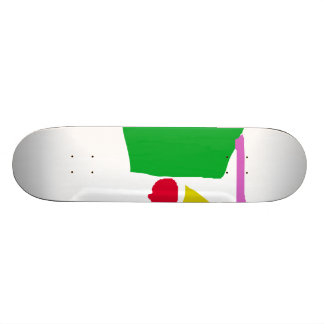 Peaceful Continents Skate Board