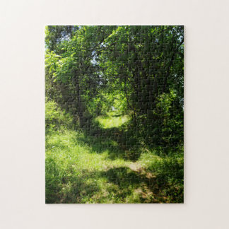 Peaceful Country Pathway Jigsaw Puzzle