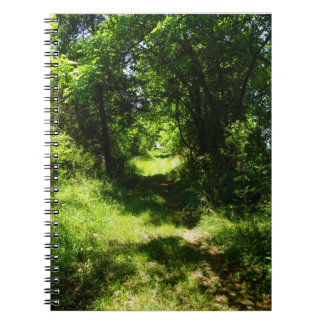 Peaceful Country Pathway Spiral Notebook