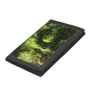 Peaceful Country Pathway Tri-fold Wallet