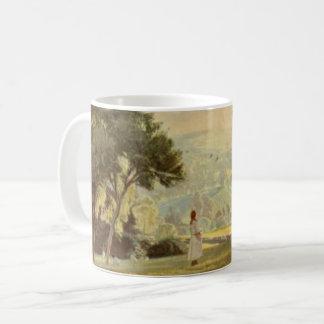 Peaceful Country Scenery Vintage Art Coffee Mug