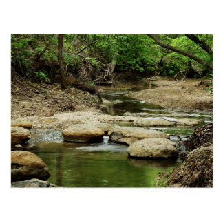 Peaceful Creek photo postcard
