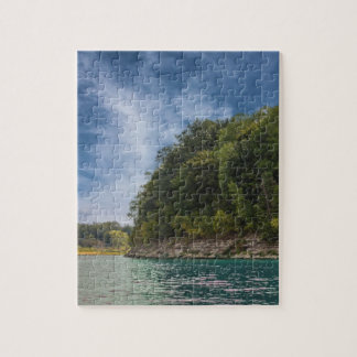 Peaceful Day at the Lake Jigsaw Puzzle