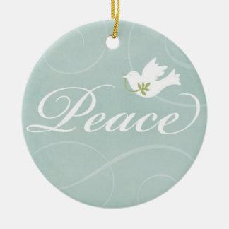 Peaceful Dove Christmas Ornament