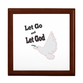 Peaceful Dove Let Go Let God Recovery Gift Box