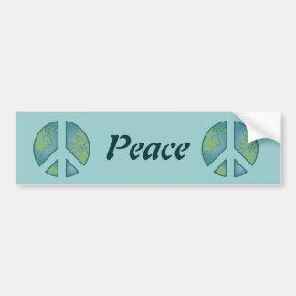 Peaceful Earth Bumper Sticker