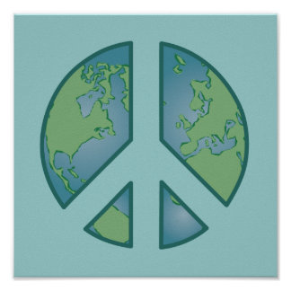 Peaceful Earth Poster