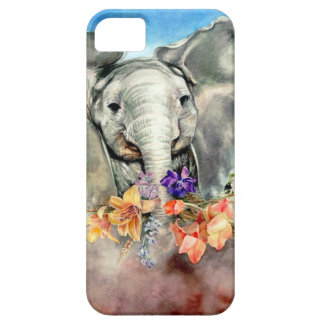 Peaceful Elephant iPhone 5 Cover
