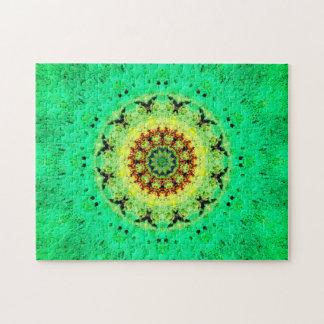 Peaceful Energy Mandala Jigsaw Puzzle