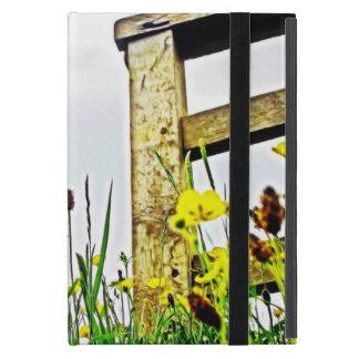 Peaceful  Floral Cover For iPad Mini