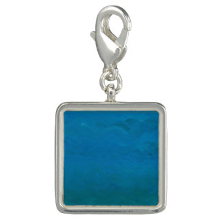 Peaceful Flowing Water Charm for Bracelet