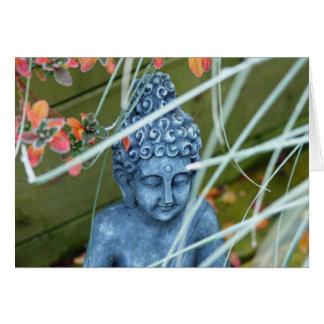 Peaceful Garden Buddha Greeting Card