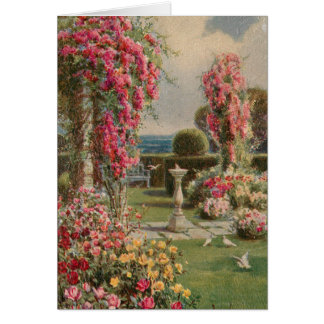 Peaceful Garden Card