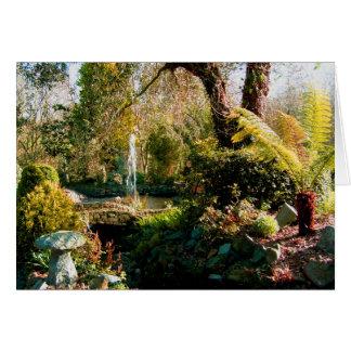 Peaceful garden in Guernsey 1 Card