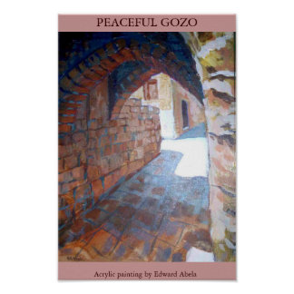 PEACEFUL GOZO POSTER