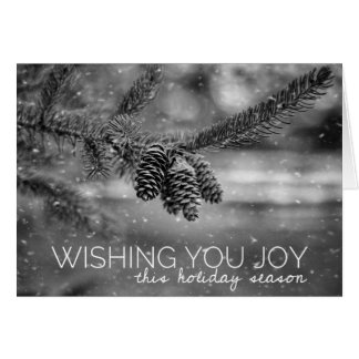 Peaceful Holiday Wishes Card