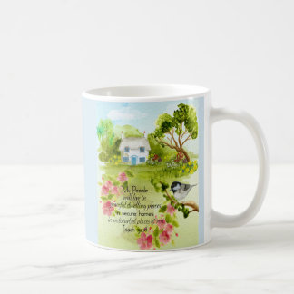 Peaceful Home Mug