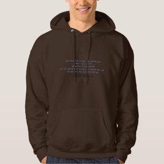 peaceful hoodie