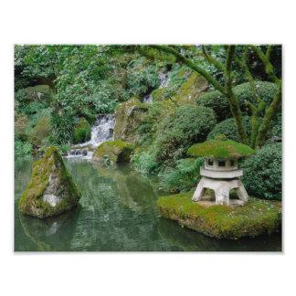 Peaceful Japanese Gardens Art Photo