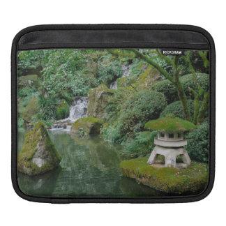 Peaceful Japanese Gardens iPad Sleeve