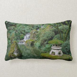 Peaceful Japanese Gardens Lumbar Pillow