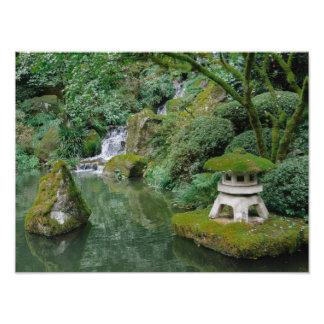Peaceful Japanese Gardens Photo Art