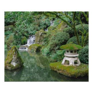 Peaceful Japanese Gardens Photographic Print