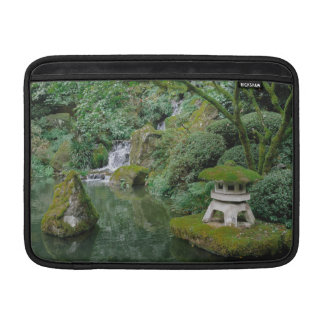 Peaceful Japanese Gardens Sleeve For MacBook Air