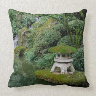 Peaceful Japanese Gardens Throw Pillow