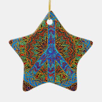 Peaceful Living Ceramic Ornament