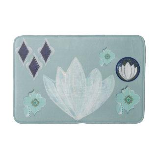 Peaceful Lotus Bath Mat