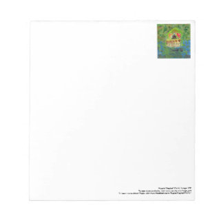 Peaceful mediation pavilion notepad
