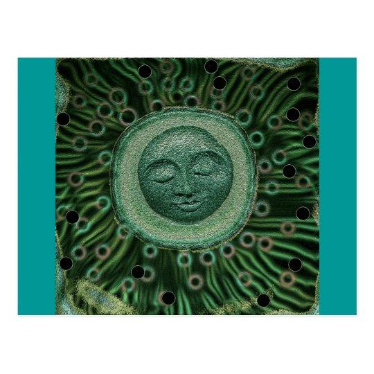 Peaceful Moon Postcard