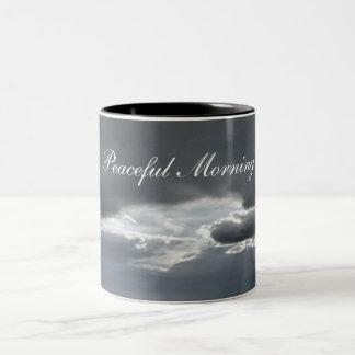Peaceful Morning Two-Tone Mug