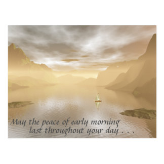 Peaceful Morning Postcard