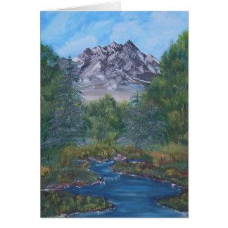 Peaceful Mountain Card
