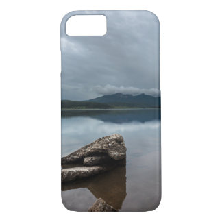 Peaceful Mountain Lake View iPhone 7 Case
