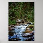 Peaceful Mountain Stream print