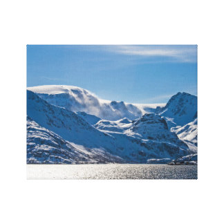 Peaceful Norway Canvas Print