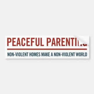 Peaceful Parenting Bumper Sticker