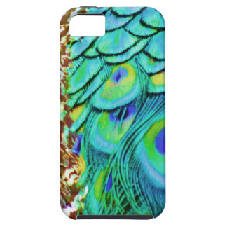 Peaceful Peafowl Flow iPhone 5 Covers