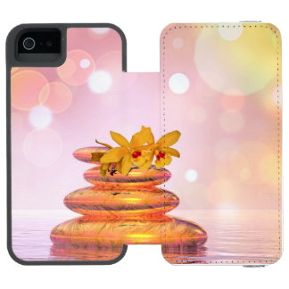 Peaceful pebbles - 3D render Incipio Watson™ iPhone 5 Wallet Case