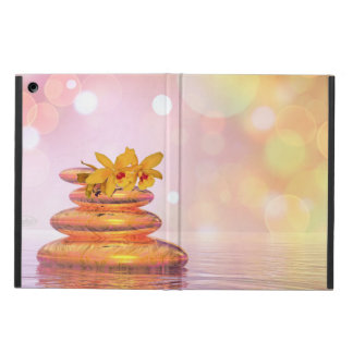 Peaceful pebbles - 3D render iPad Air Cover